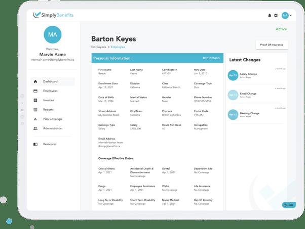 Employer Platform Features